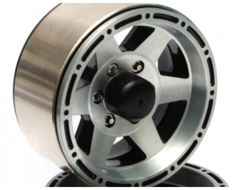 EVO™ 1.9 High Mass Beadlock Aluminum Wheels Star-6 (2)