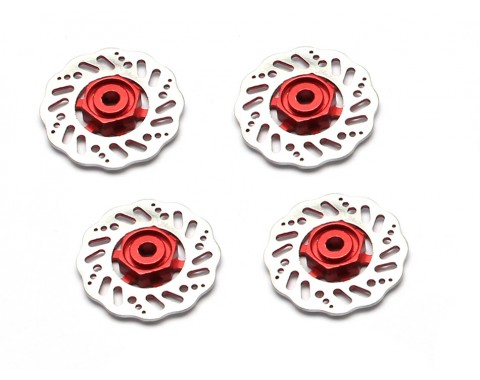 KT  Alloy Red 12mm Hex Mount for 1/10 (4pcs) 32mm