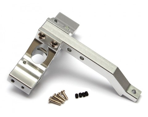 1/10 Scale RC Tow Hitch for Axial Vaterra Tamiya Gmade Silver