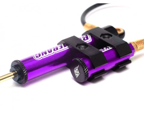 Boomerang™ Type G Piggyback Internal Spring Shocks w/ Functional Reservoir 110mm for 1/10 Crawlers Purple [OFFICIAL RECON G6 SHOCKS]