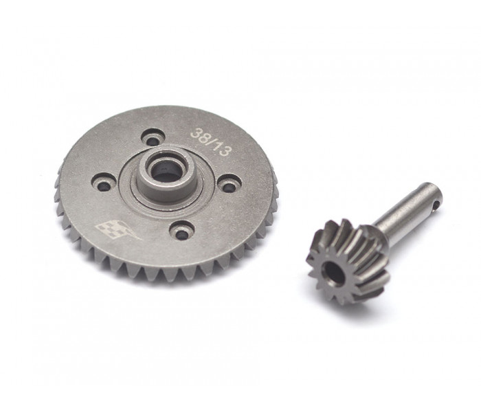 Heavy Duty Bevel Helical Gear Set - 38T/13T For All 1/10