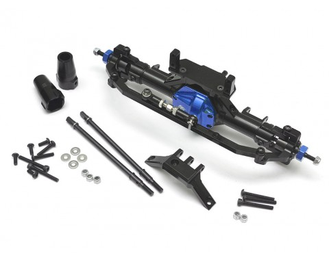 Complete Assembled Aluminum Convertible Front or Rear Axle Blue
