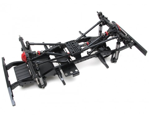 1/10 ARTR Assembled D90 Chassis for TRC Raffee Defender D90 Body