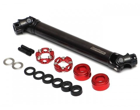 BADASS™ HD Steel Center Drive Shaft Set for Hobao DC1 Front & Rear (2) [Recon G6 Certified]