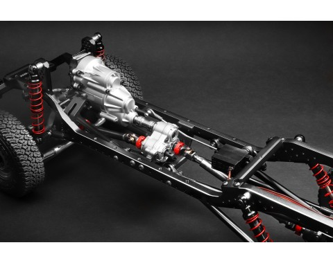 1/10 4WD Radio Control Chassis Kit w/ Killerbody LC70 Hard Body Kit Set
