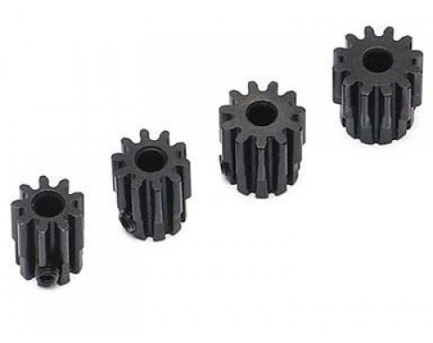32P Steel Pinion Gear Combo 9T-12T 3.175mm 4Pcs