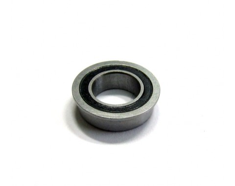 High Performance Flanged Ball Bearing Rubber Sealed 6x10x3mm 1Pc