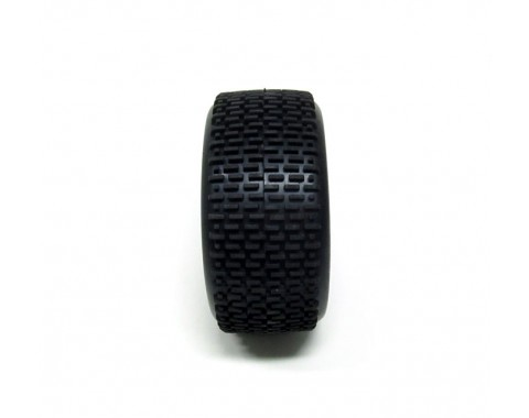 Rear Soft Tire for 1/10 Off-Road With  Inserts(2)