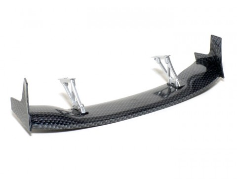 1/10th Scale CF Rear Spoiler Wing W/ Stands (#00465)