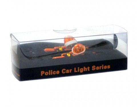 360 Degree Rotation Led Police Light (oval) Yellow