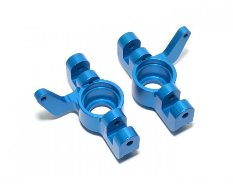 Losi 5ive Front Rear Hub Blue