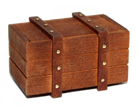 RC Scale Accessories - Handmade Wooden Box Shape C