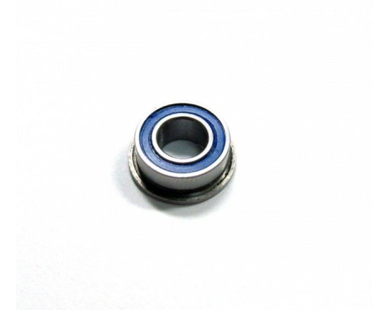 Competition Ceramic Flanged Ball Bearing Rubber Sealed 5x10x4mm 1Pc