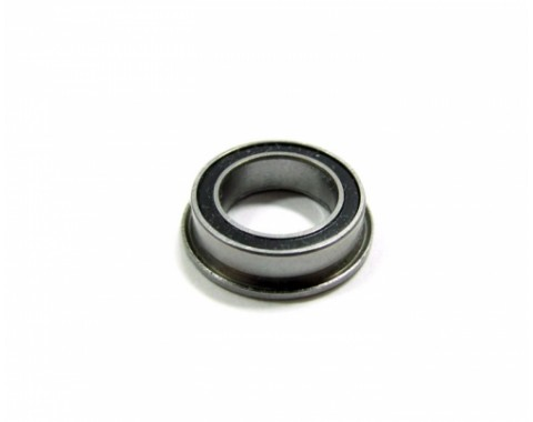 High Performance Flanged Ball Bearing Rubber Sealed 8x12x3.5mm 1Pc