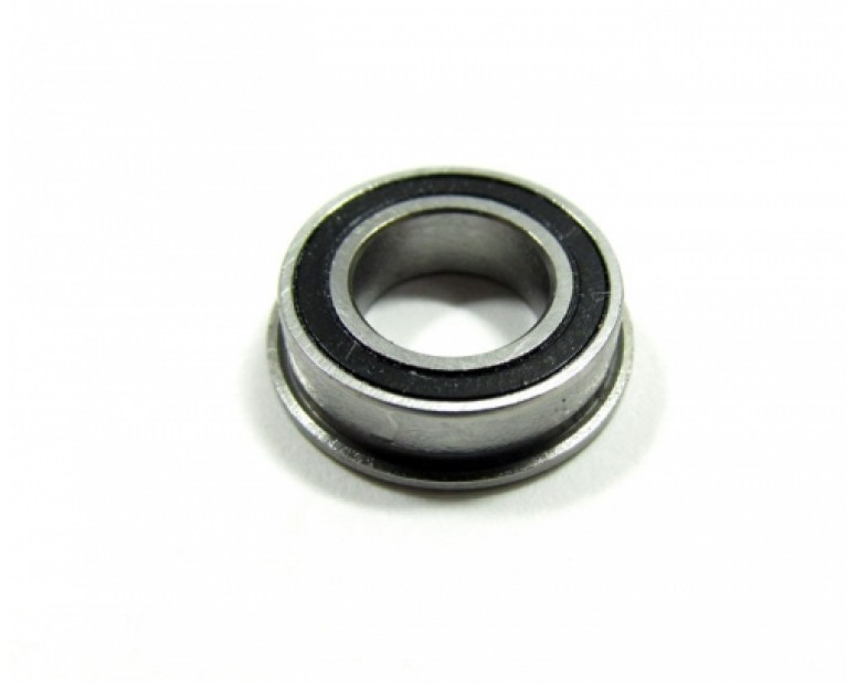 High Performance Flanged Ball Bearing Rubber Sealed 8x14x4mm 1Pc