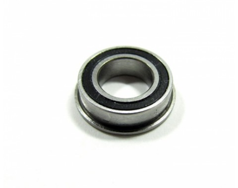 Competition Ceramic Flanged Ball Bearing Rubber Sealed 8x14x4mm 1Pc