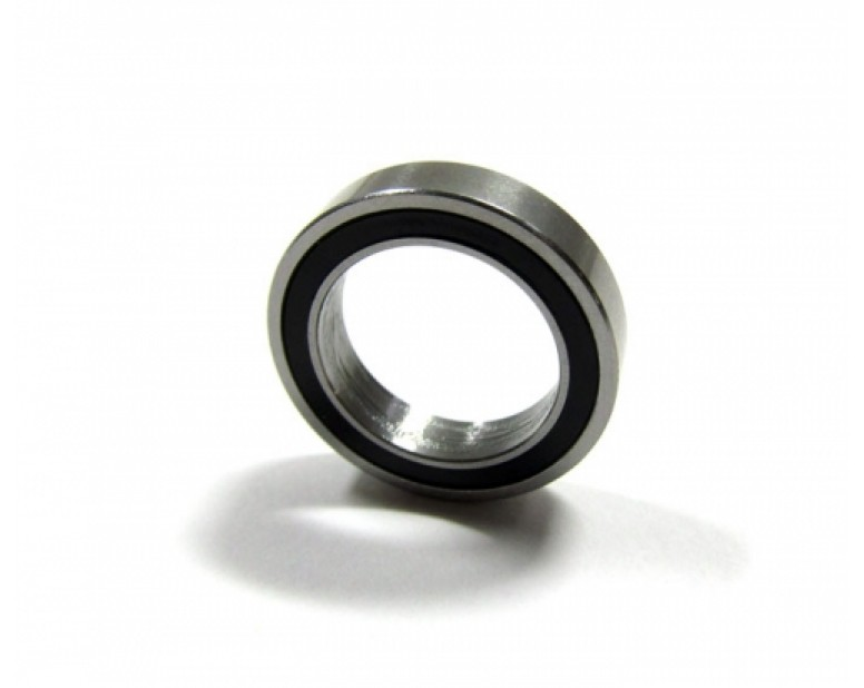 High Performance Rubber Sealed Ball Bearing 13x19x4mm 1Pc