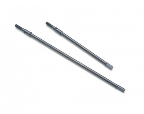 HD Steel Rear Axle Shafts For AR60 Axle Wraith RR10 Bomber Yeti & Score for Tubes (2)
