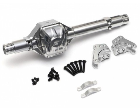 AR60 Billet Machined Aluminum Axle Housing w/ Link Mounts for Bomber Yeti Wraith Score Silver