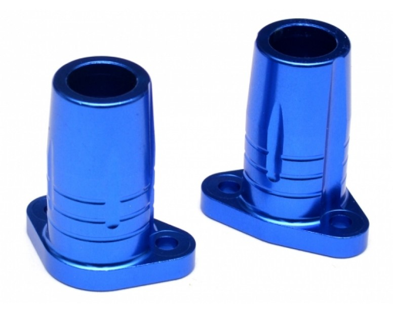 Aluminum Rear Axle Lock-out - 1 Pair Blue