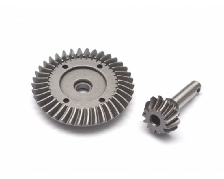 Heavy Duty Bevel Helical Gear Set - 38T/13T For All 1/10 Axial Trucks [RECON G6 The Fix Certified]
