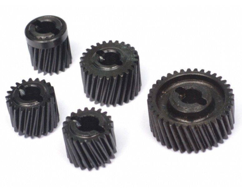 Heavy Duty Steel Helical Pineapple Transmission Gear Set (5pcs)