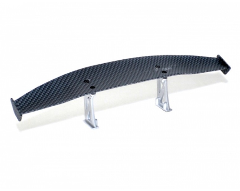 1/10th Scale CF Rear Spoiler Wing W/ Stands (#00474)