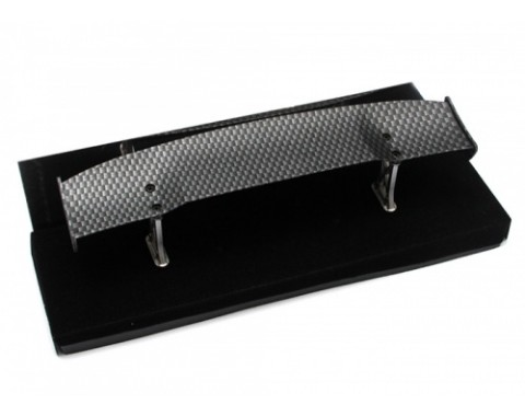 1/10th Scale RC Toy CF Rear Spoiler Wing W/ Stands (#00505)
