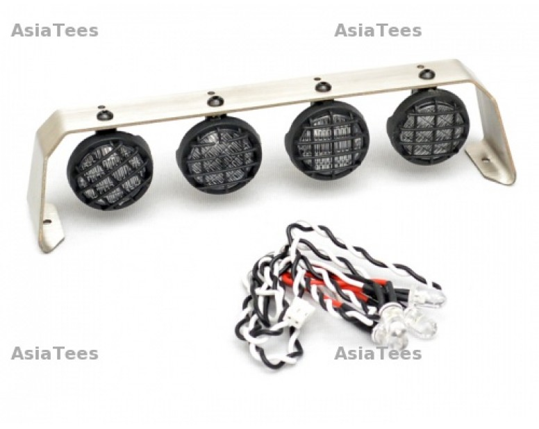 18MM - 4 Stainless Steel LED Light Set