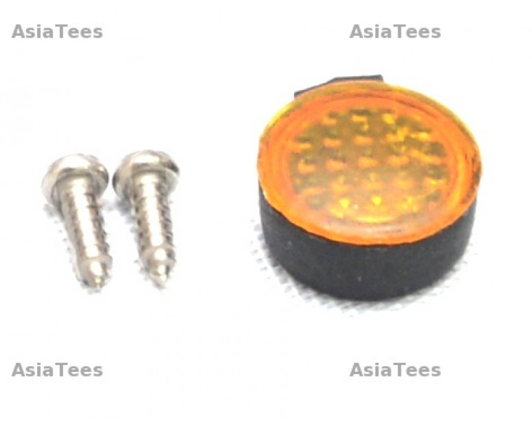 RC Rear Led Lamp Kit 4MM x8.5 MM ( Small) For 1/10  Crawlers Yellow