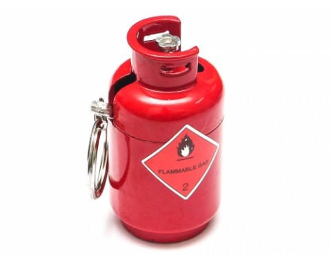 Scale Accessories - Gas Cylinders Blue  50*28mm Red