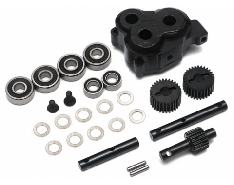 BRX Anti Torque Twist SRD Transfer Case w/ HD Gears for BRX01 D110 D90 Defender