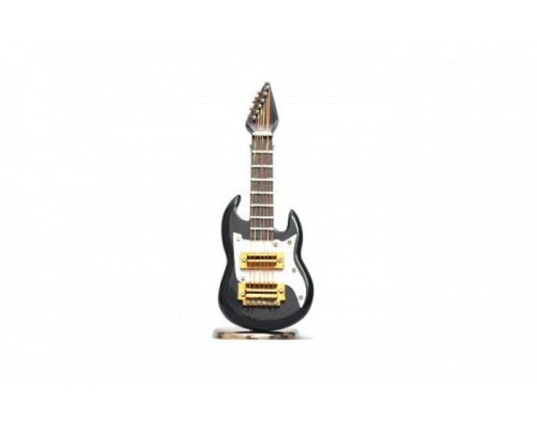 RC Scale Accessories - Electric Guitar Black