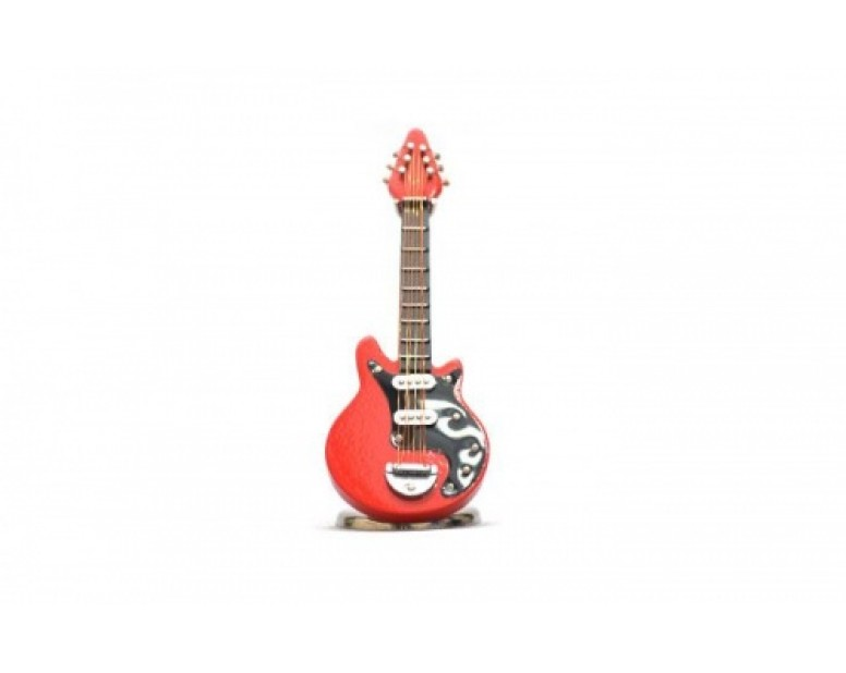 RC Scale Accessories - Electric Guitar (2) Red