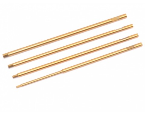 Replacement Tip Set for Allen Hex Wrench (4pcs) Metric Size 1.5mm, 2.0mm, 2.5mm, 3.0mm