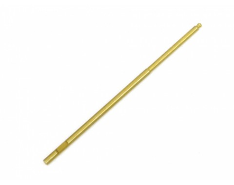 Spring Steel Ball Hex Driver Tip 2.0mm Metric Replacement (100mm O.D.=3mm)