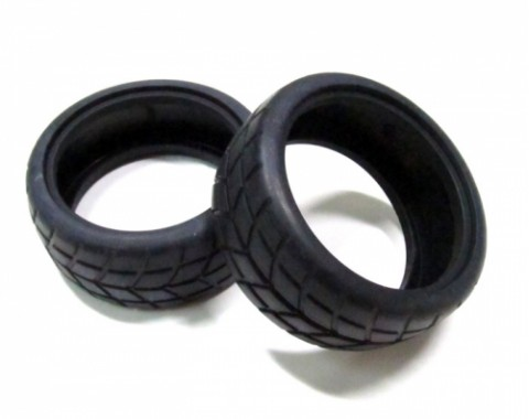1/10 Rubber Tire With Foam Insert Pattern Y (2)