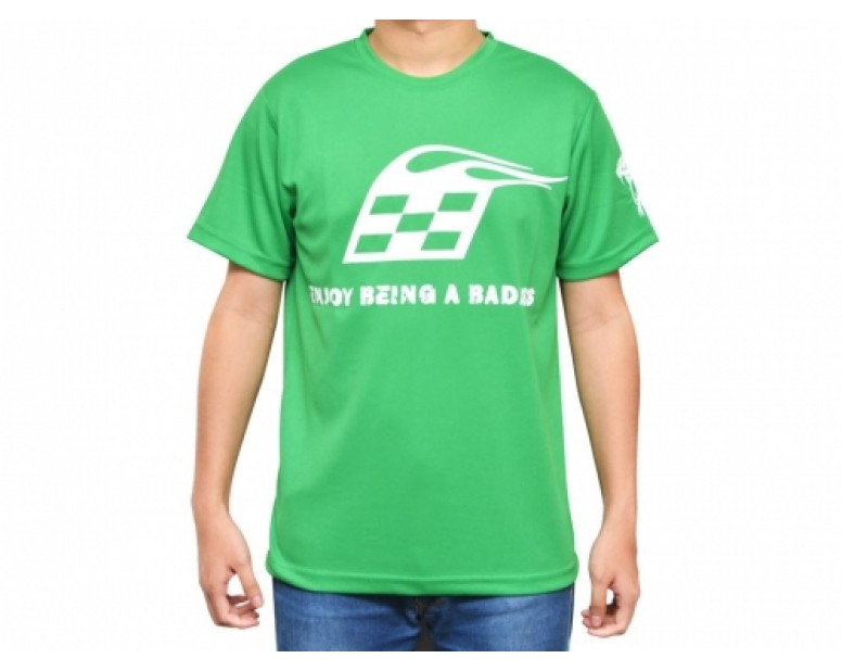 Teamwear Round Neck T-Shirt Large (L) Green