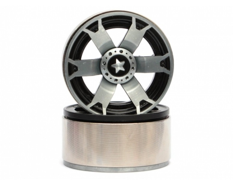 EVO™ 1.9 High Mass Beadlock Aluminum Wheels Star - 6B (2/Set)