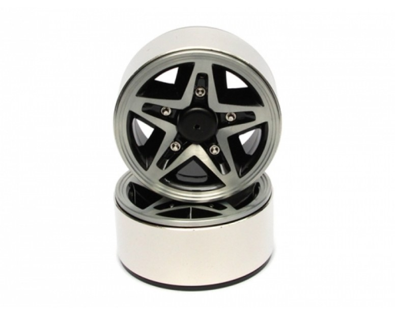 EVO™ 1.9 High Mass Beadlock Aluminum Wheels Star - 5A (2)