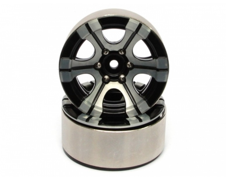 EVO™ 1.9 High Mass Beadlock Aluminum Wheels Twin-6D (2)