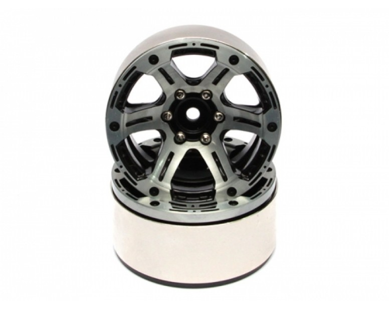 EVO™ 1.9 High Mass Beadlock Aluminum Wheels Twin-6C (2)