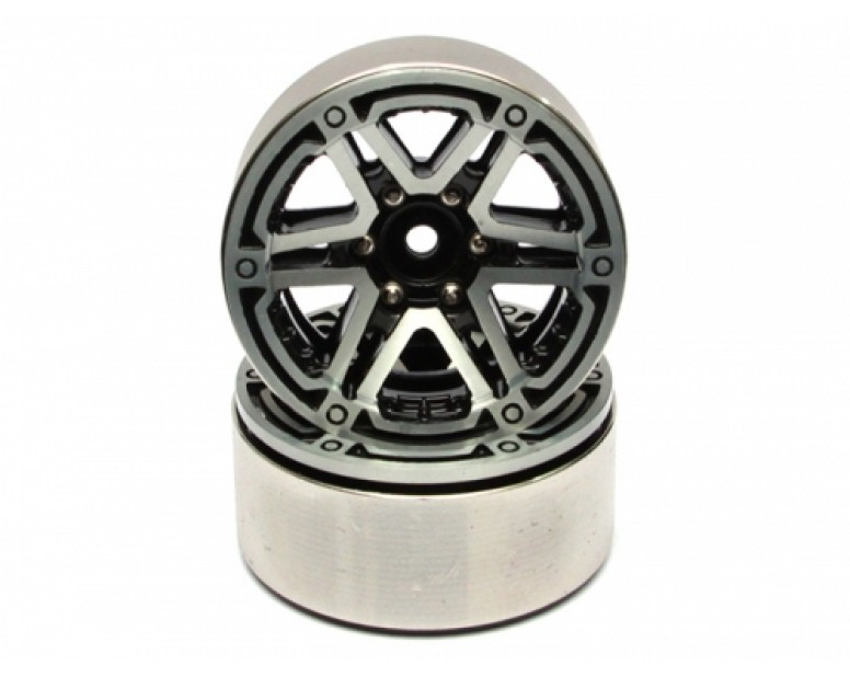 EVO™ 1.9 High Mass Beadlock Aluminum Wheels Twin Star-5 (2)