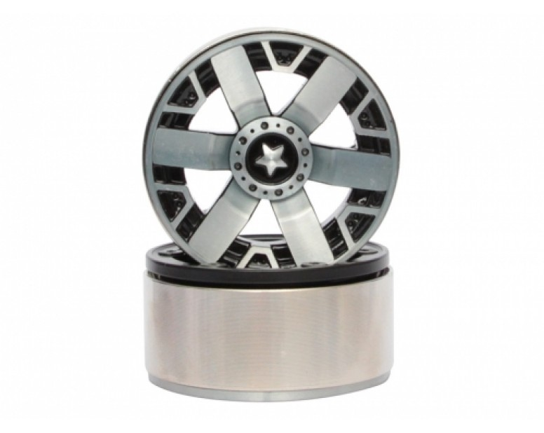 EVO™ 1.9 High Mass Beadlock Aluminum Wheels Star - 6C (2/Set)