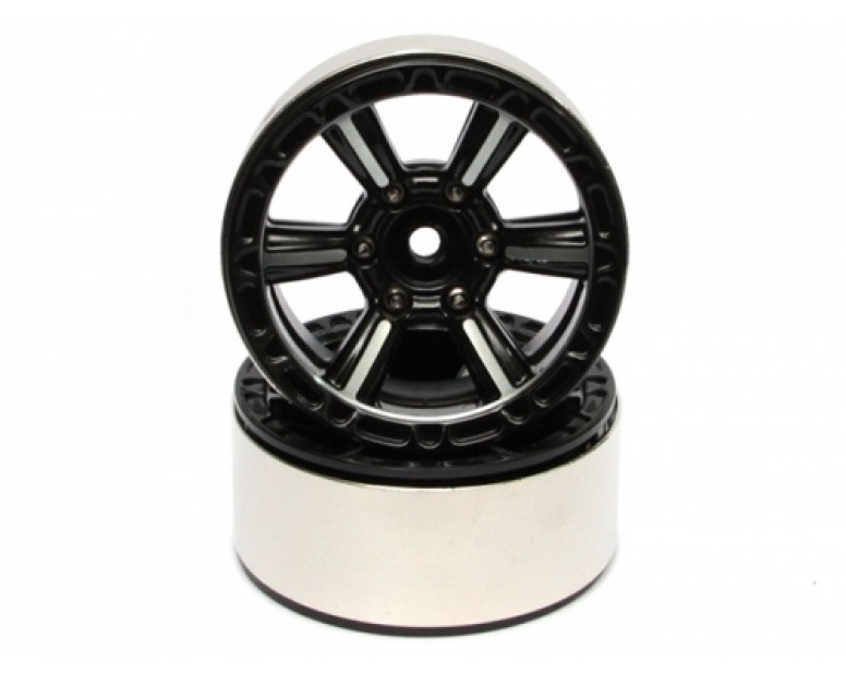 EVO™ 1.9 High Mass Beadlock Aluminum Wheels Splite-6 (2)