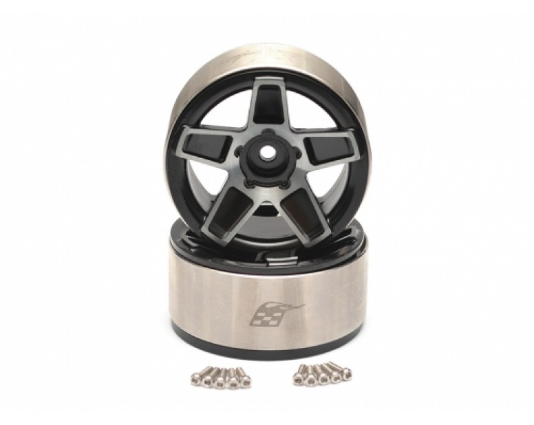 EVO™ 1.9 High Mass Beadlock Aluminum Wheels Star - 5C(2)