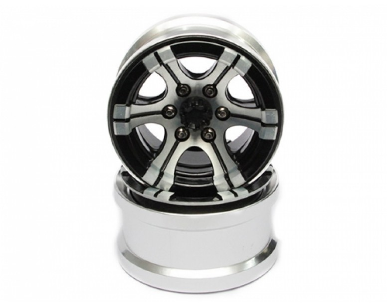 EVO™ 2.2 High Mass Beadlock Aluminum Wheels Twin-6 (2)