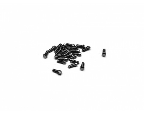 Scale M2 * 4.5mm Wheel Bolts Screw (20) KRAIT™ Beadlock Black