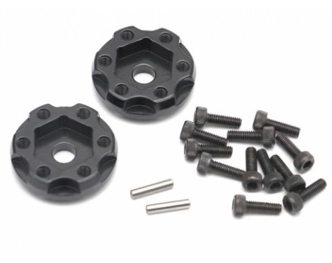 XT601 6-Lug Aluminum 12mm Wheel Hub Adapters 1MM Offset (2)