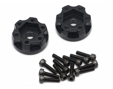 XT604 Aluminum 12mm Wheel Hub Adapters 4MM Offset (2)
